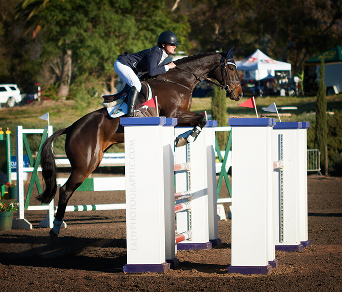 Lauren Kieffer and Meadowbrook's Scarlett. Photo courtesy of Vanessa Hughes / Lady Photographic.