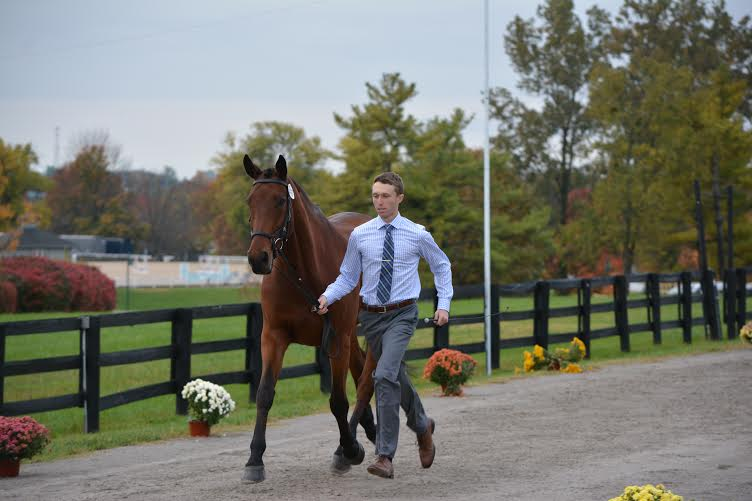 Michael Willham and Fernhill Cayenne. Photo by Renea Willham.
