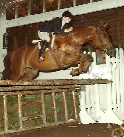 Me - equitation - a hundred years ago. Rabinksy Photo.