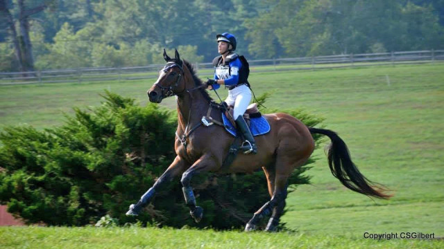 Amy Mulhern-Sierant and Jet Set Guy. Photo by Cynthia Gilbert.