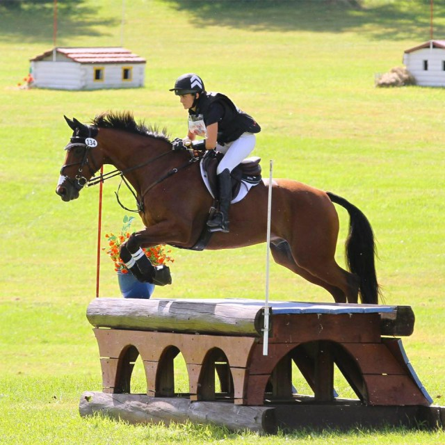 Makenna Rold and Fernhill Imperial. Photo by D&G Photography