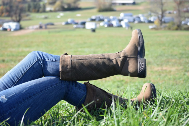 The Medway Boots features the Dublin RCS (Rider Comfort System) footbead, which is designed to provide all day comfort and moisture control. Photo by Lorraine Peachey.