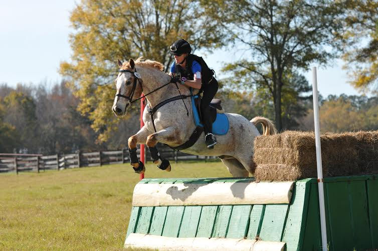 Lindsay and Chappy at Pine Top. Photo courtesy of Hoofclix.com.
