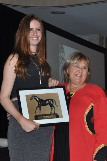 Caroline Martin is the USEA Young Rider of the Year for a record fourth consecutive year. Photo by Leslie Threlkeld.