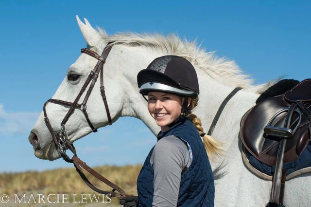 Marllory Tevini and Snowy's Olivia. Photo by Marcie Lewis, courtesy of Mallory Tevini.