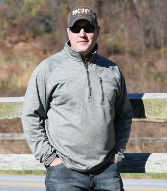 The Quarter Zip Mock from Noble Outfitters has made its way into my cold weather gear on a regular basis. Photo By Lorraine Peachey