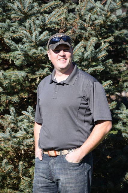 I found that the CoolFlo Polo was durable enough for farm work, but nice enough to wear to a meeting. Photo by Lorraine Peachey