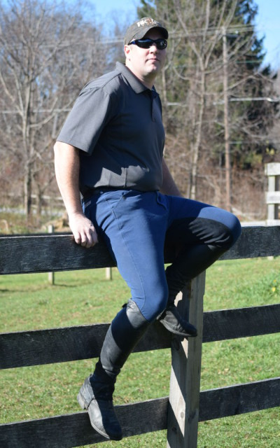 The Fusion Breech combines a classic look with modern stretch and feel making it not only comfortable but stylish as well.  Photo by Lorraine Peachey