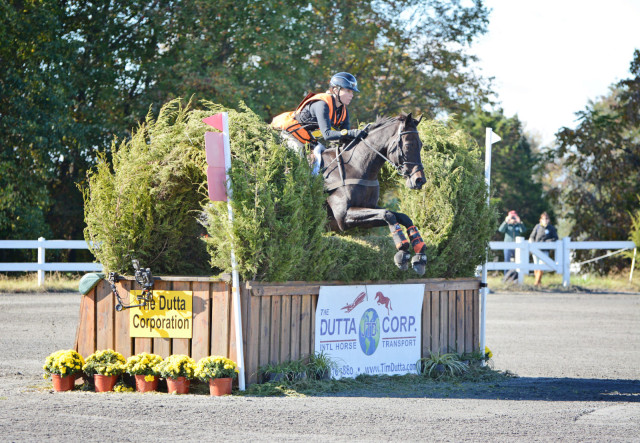 Daisy Trayford and Normandy Soldier at Fair Hill. Photo by Jenni Autry.