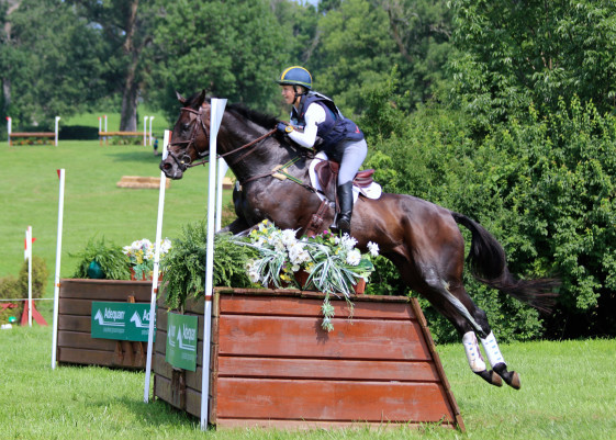 Madison Tempkin and Kingslee at NAJYRC 2015. Photo by Samantha Clark.