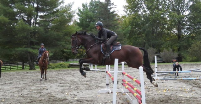 My first jump set with Mr T! Oct  2015, THF.