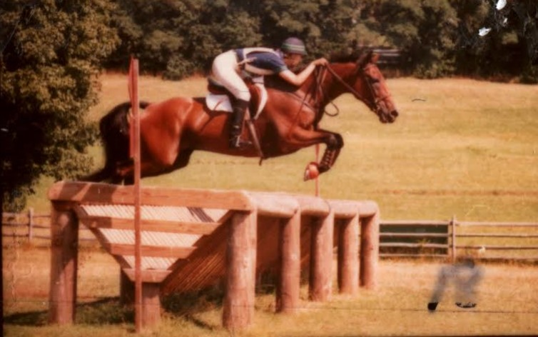 Jumping the big jumps at Ledyard. Photo by Terri Miller.