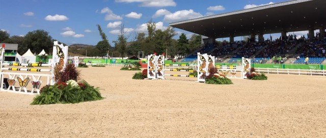 Panorama of the main arena. Photo by Leslie Wylie.