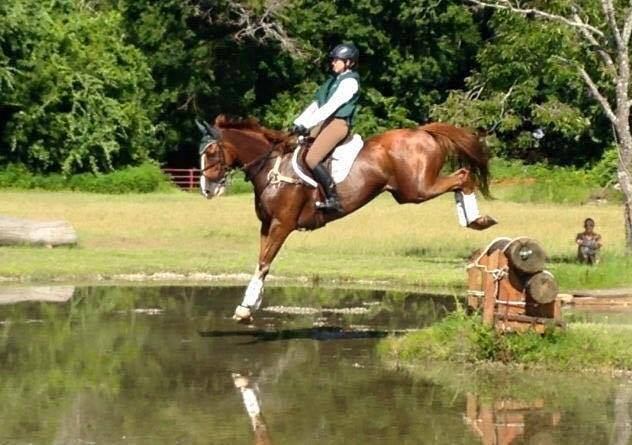 "Contrary to what ""Bad Eventer"" would have you believe, she is in fact a lovely rider. Photo courtesy of Laura Szeremi."