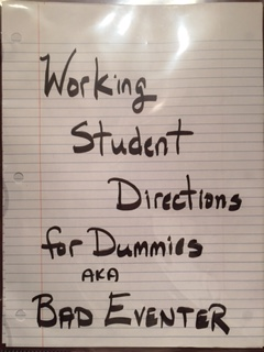 BE WS directions for dummies