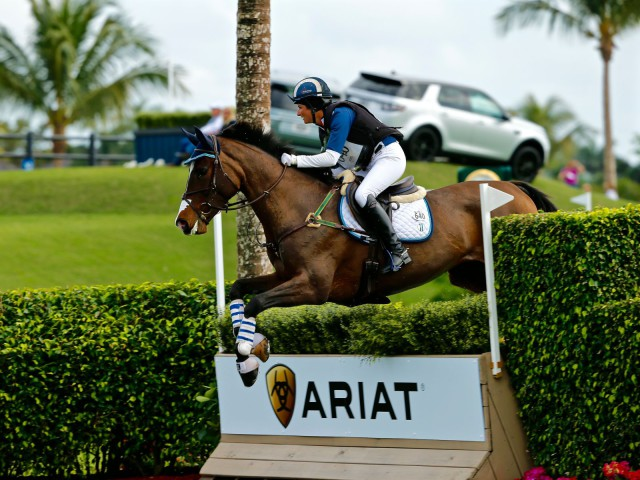 Jennie Brannigan and Catalina. Photo by Rare Air Eventing Photography.