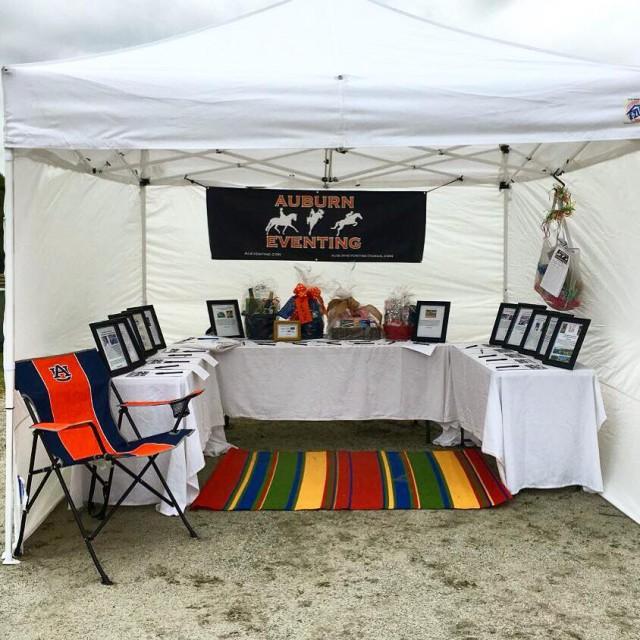 Auburn Eventing Team Silent Auction. Photo Courtesy of Auburn Eventing Team.