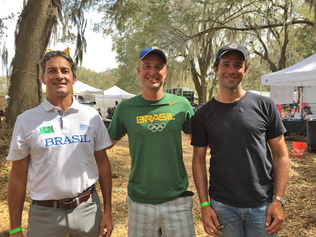 Marcelo Tosi, Henrique Pinheiro and Marcio Calvalho Jorge: Brazil in Florida. Photo by Samantha Clark.