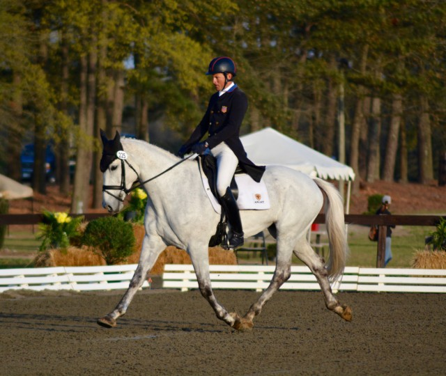 Boyd Martin & Welcome Shadow, 30.7 for 5th place. Photo by Kate Samuels.