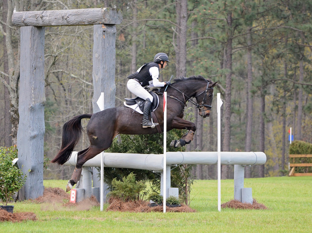 Ellie MacPhail and RF Panamera. Photo by Jenni Autry.