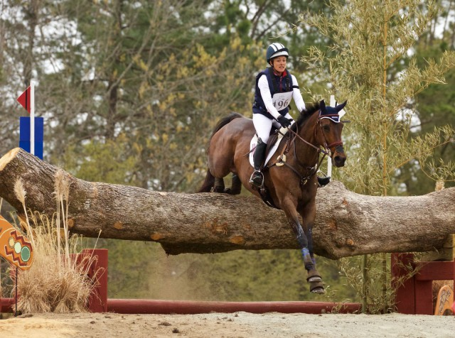 Lynn Symansky and Donner. Photo by Rare Air Eventing Photography.