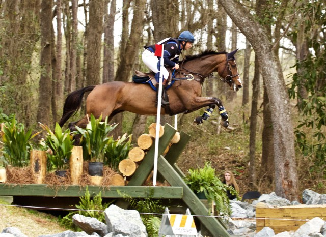 Clayton Fredericks and FE Bowman. Photo by Rare Air Eventing Photography.