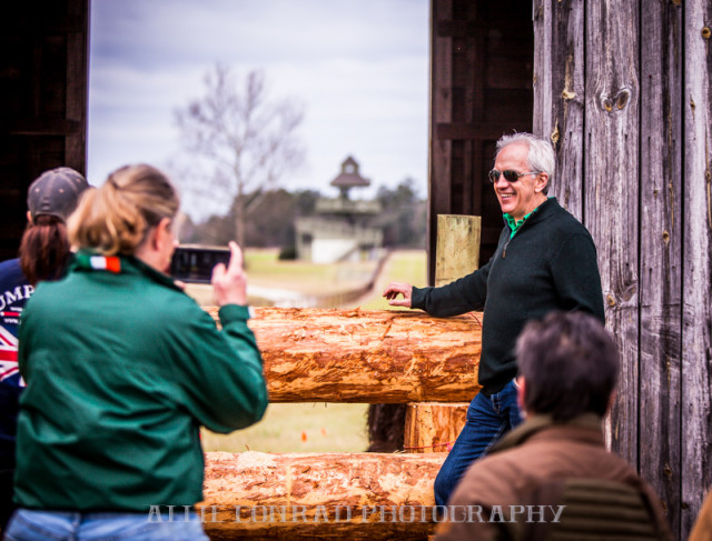 Ian Stark gives a preview of his new Carolina International course. Photo by Allie Conrad Photography.
