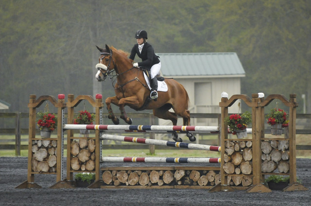 Katie Ruppel and Houdini. Photo by Leslie Threlkeld.