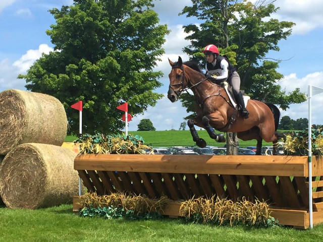 Lauren Billys and the Purdy Syndicate's Castle Larchfield Purdy at the 2015 Pan American Games. Photo by Carmen Barrera.