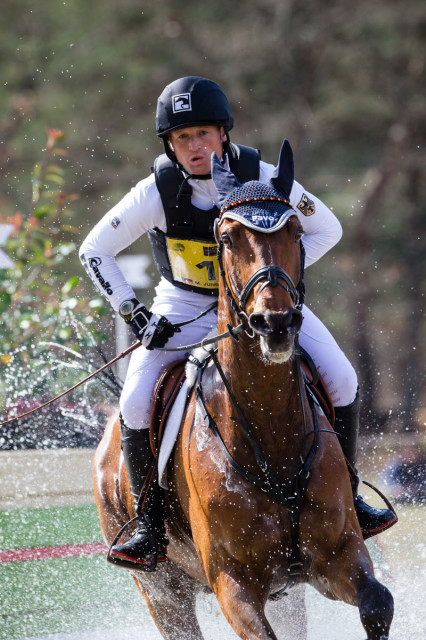 Michael Jung and La Biosthetique Sam FBW at Fontainebleau. Photo by Eric Knoll/FEI.