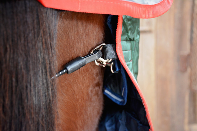 The Rambo Duo's liner snaps onto the outer blanket to keep it in place, and the PVC-coated tail cord is so easy to clean. Photo by Jenni Autry.