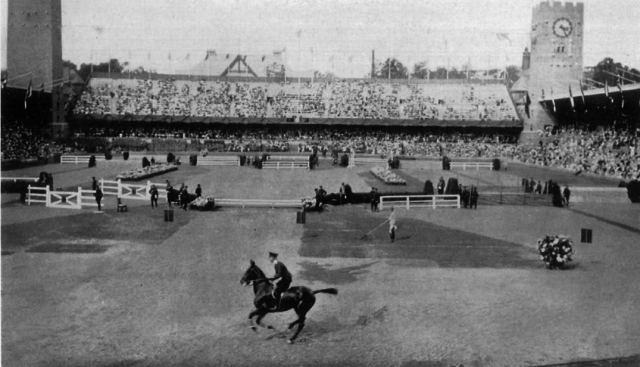 Stockholm's Field Riding Club, which hosted the 1916 Olympic equestrian events. Photo: Public Domain/IOC