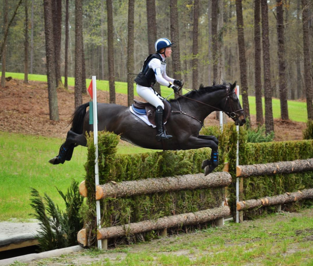 Katie Lichten and RF Luminati, winners of the 2016 Carolina International CIC1*. Photo by Jenni Autry.