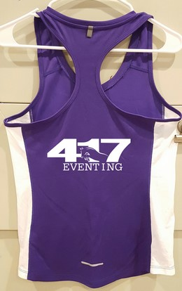 The 417 Eventing Rolex 5K jersey. Photo courtesy of Cynthia Wiseman.