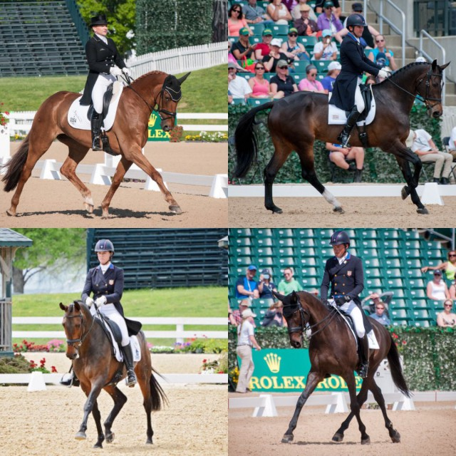 Team USA for the Dubarry of Ireland Nations Team Challenge. Photos by Jenni Autry & Leslie Threlkeld.