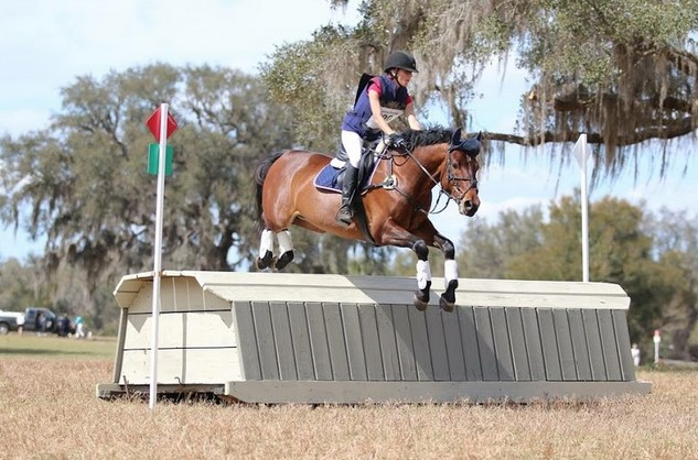 Jennifer Gallas and E'Lupicor at Rocking Horse. Photo used with permission from Xpress Foto.