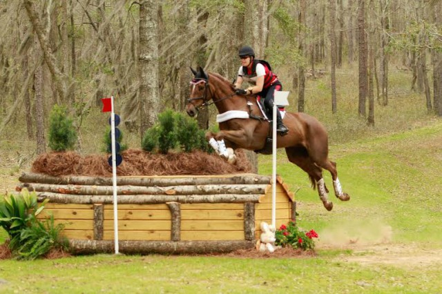 Lisa Fergusson and Honor Me at Red Hills. Photo by Diane Flowers.