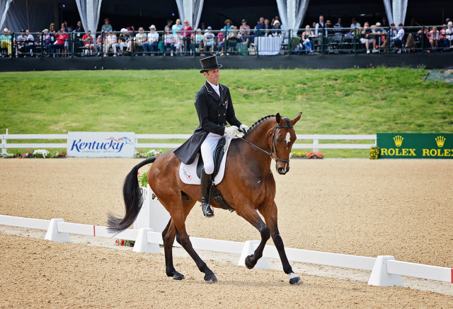 Mark Todd and NZB Campino. Photo by Jenni Autry.
