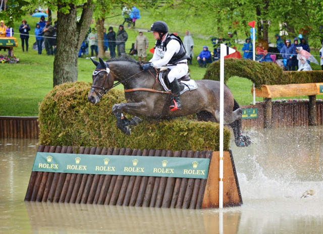Michael Jung and fischerRocana FST. Photo by Leslie Threlkeld.