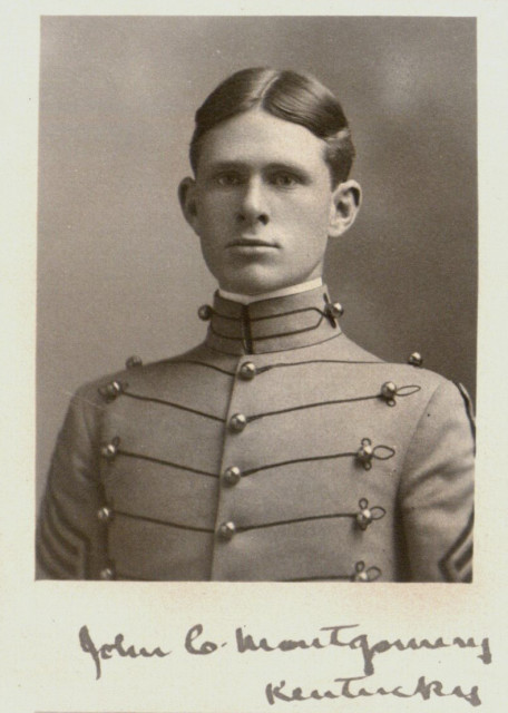 John Carter Montgomery. Courtesy of UMWblogs and West Point Library. Public Domain