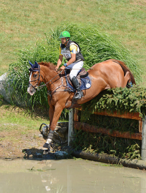 Nilson Moriera da Silva and Muggle at Millbrook in 2015. Photo by Jenni Autry