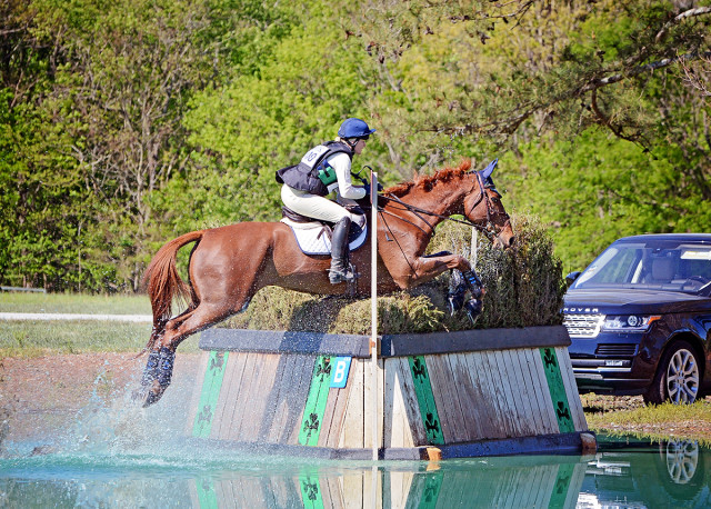 Philippa Humphreys and Sir Donovan in their final Rolex prep run at the Fork. Photo by Jenni Autry.