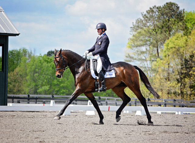 Phillip Dutton and Fernhill Cubalawn. Photo by Jenni Autry.