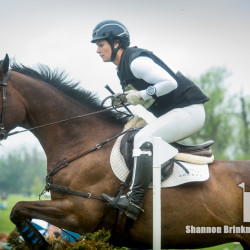 Leah Lang-Gluscic and AP Prime were clear at their first Rolex. Photo by Shannon Brinkman.