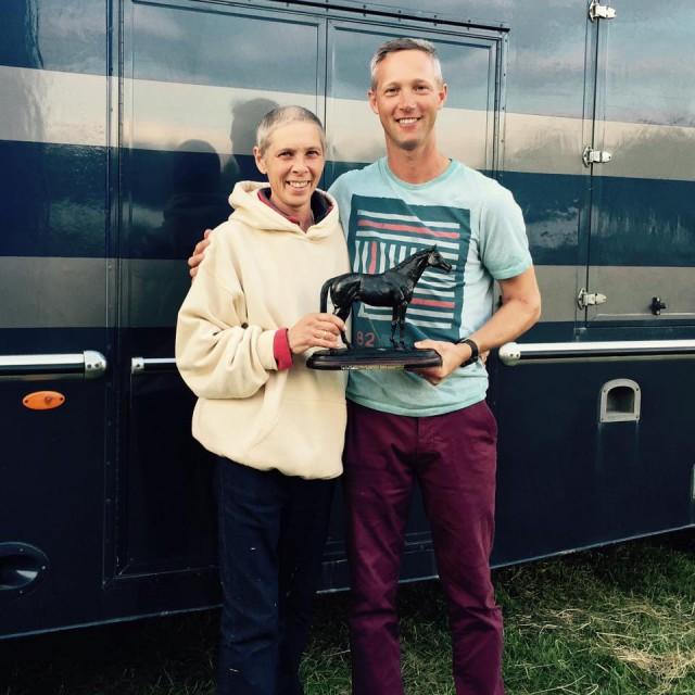 Karen Hughes and Clark Montgomery. Photo courtesy of Clark Montgomery.