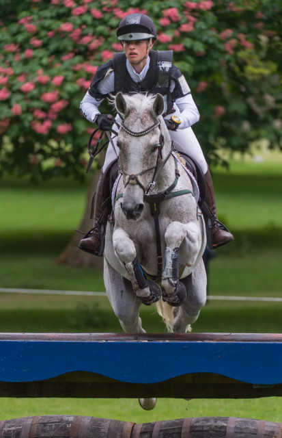 Josephine Schnaufer and  Sambucca 10 were the highest placed German combination, finishing sixth individually. Photo: Trevor Holt/FEI.