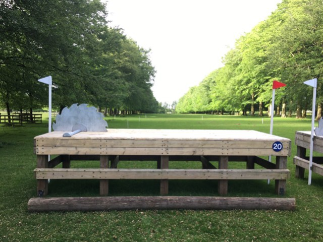 "CICO3* Fence #20: ""Saw Bench."" That's one way to cure a left drift!"
