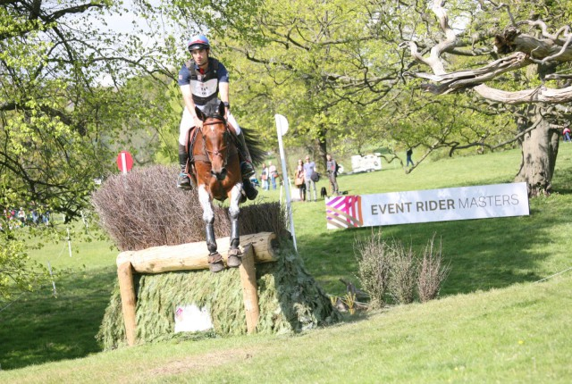 Astier Nicholas winning the Chatsworth Leg of the ERM. Photo courtesy of eventridermasters.tv