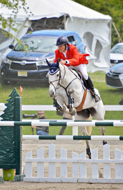 Boyd Martin and Welcome Shadow. Photo by Jenni Autry.