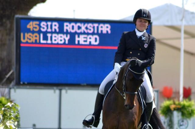 Libby Head and Sir Rockstar. Photo by Leslie Wylie.